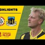 HIGHLIGHTS   Ashton United 0-1 Hebburn Town