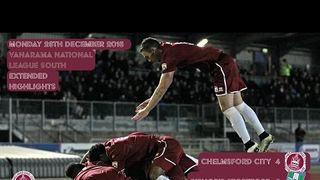 Highlights - Chelmsford City vs Bishop's Stortford