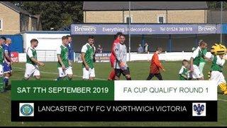 [NVTV] [FA CUP] Lancaster City FC V Northwich Victoria [HIGHLIGHTS]