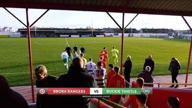 Brora Rangers vs Buckie Thistle | Highlights | Breedon Highland League | 9 November 2019