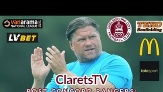 REACTION: Rod Stringer - Post Concord Rangers (A) - 06/08/2019