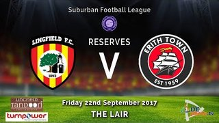 Lingfield FC Res v Erith Town FC Res - 22-09-2017 - HIGHLIGHTS