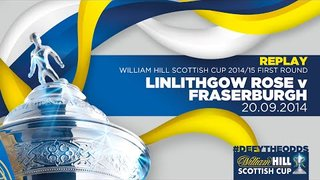 Linlithgow Rose 2-1 Fraserburgh // William Hill Scottish Cup First Round Replay 2014-15