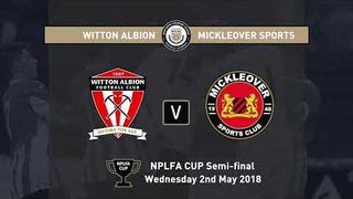 NPLFA Cup Semi finals 2018
