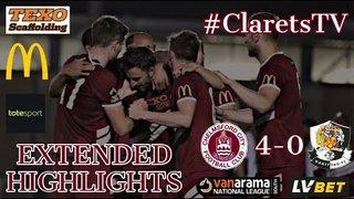 EXTENDED HIGHLIGHTS: Chelmsford City 4-0 Dartford - 12/08/2019