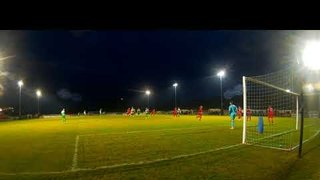 Cam 2 view of Joe Boachie's goal for Stamford v Lincoln Utd 05 01 19