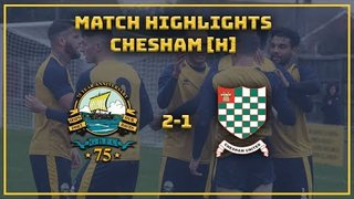 MATCH HIGHLIGHTS| GOSPORT 2-1 Chesham