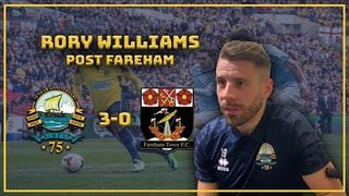 PRE-SEASON| Gosport 3-0 Fareham Town: Rory Williams on returning!