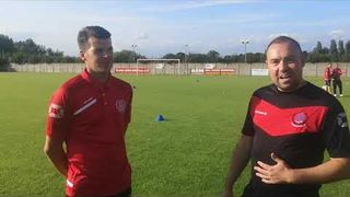 Pre game interview with Ben Sturgess - Thame Utd v Oxford City