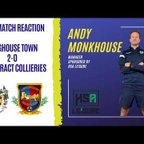 Post Match Reaction | Andy Monkhouse gives us his verdict after today's 2-0 defeat.