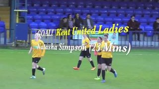 Tonbridge Angels Ladies v Kent Football Utd Ladies - 3/5/2016