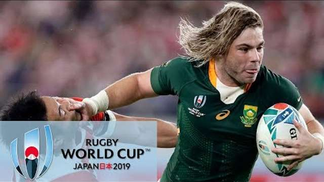 Rugby World Cup 2019: South Africa vs. Japan | EXTENDED HIGHLIGHTS | 10/20/19 | NBC Sports