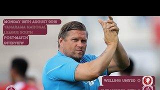 Welling United Reaction - Rod Stringer & Shaun Jeffers
