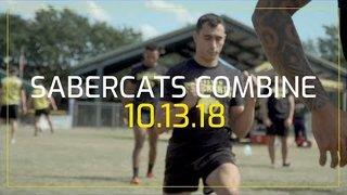 SaberCats Combine Recap 10.13.18