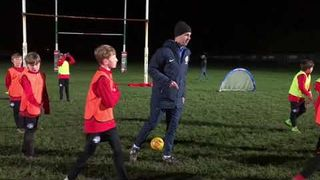 FA Coach Mentoring Session with Rob Oakley & U11's Comets