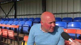POST MATCH INTERVIEW - Weston-s-Mare 1-1 Oxford City