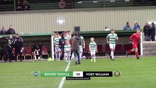 Buckie Thistle vs Fort William | Highlights | Breedon Highland League | 14 September