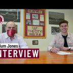 Callum Jones' first interview as a Clarets player