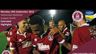 Chelmsford City 5 vs 2 Concord Rangers - Extended Highlights