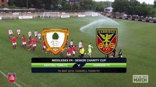 Senior Charity Cup Final 2019 - Ashford Town (Middlesex) vs Uxbridge FC