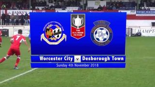 Worcester City v Desborough Town #FAVase