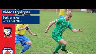HIGHLIGHTS: Berkhamsted v Bromsgrove Sporting - 27/04/2019