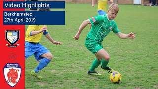 HIGHLIGHTS: Berkhamsted v Bromsgrove Sporting - 27/04/2019