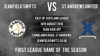 St Andrews United Vs. Jeanfield Swifts F.C. 0-3 | First East of Scotland League Game