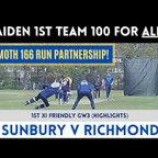 HIGHLIGHTS!  Friendly GW3 - Sunbury v Richmond