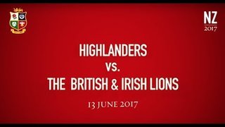 Team Announcement: Highlanders v The British & Irish Lions | Lions NZ 2017