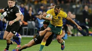 HIGHLIGHTS: All Blacks v Australia (Perth)
