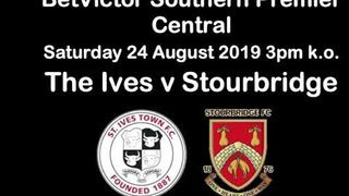 St Ives Town 0 Stourbridge 2 - BetVictor Southern Central Premier - 24 August 2019