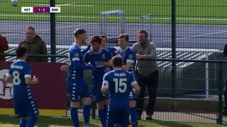 HIGHLIGHTS | Cardiff Met 1-2 Bangor City (25/03/18)