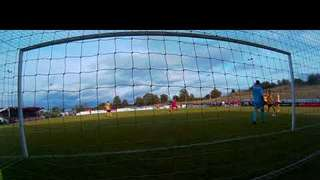 Cam 2 view of Olly Brown-Hill's brilliant goal v loughborough 290919