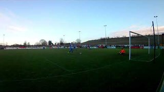 Rob Morgan scores for Stamford