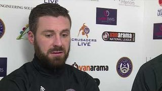 Joint Managers post match interview | Oxford City | National League South