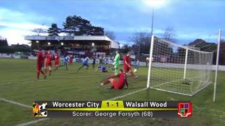 Worcester City FC v Walsall Wood 12-1-19