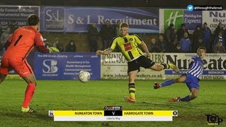 HIGHLIGHTS | Nuneaton Town 2-1 Harrogate Town (09/01/2018)