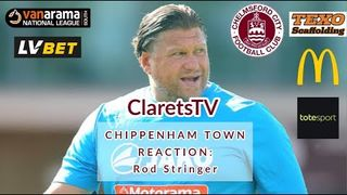 REACTION: Rod Stringer - Post Chippenham Town (H) - 14/09/2019