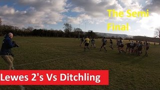 Rugby - Lewes 2's Vs Ditchling Semi Final