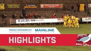 Workington v Scarborough Athletic - 22/12/2018