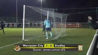 Worcester City 5 Studley 0 15-1-19