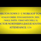 1920 Carlton Town 1-3 Worksop Town - Match Highlights 07/09/2019