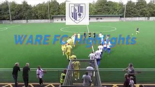 Ware FC v Lowestoft Town FC  FA Cup Highlights
