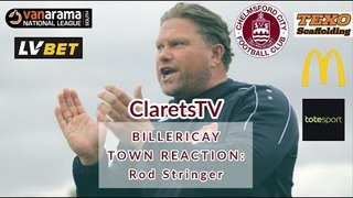 REACTION: Rod Stringer - Post Billericay Town (H) - 02/09/2019
