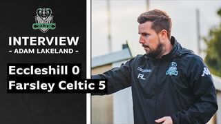 Eccleshill 0-5 Farsley (friendly)   Adam Lakeland on first pre-season win