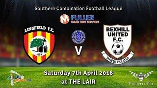 Lingfield FC v Bexhill Utd - League - 08-04-2018 - Highlights
