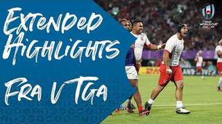 Extended Highlights: France v Tonga - Rugby World Cup 2019