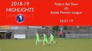Potters Bar Town 0-2 Dorking Wanderers | Bostik Premier League | 26.01.19