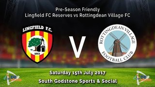 Lingfield FC Res v Rottingdean Village FC - Friendly